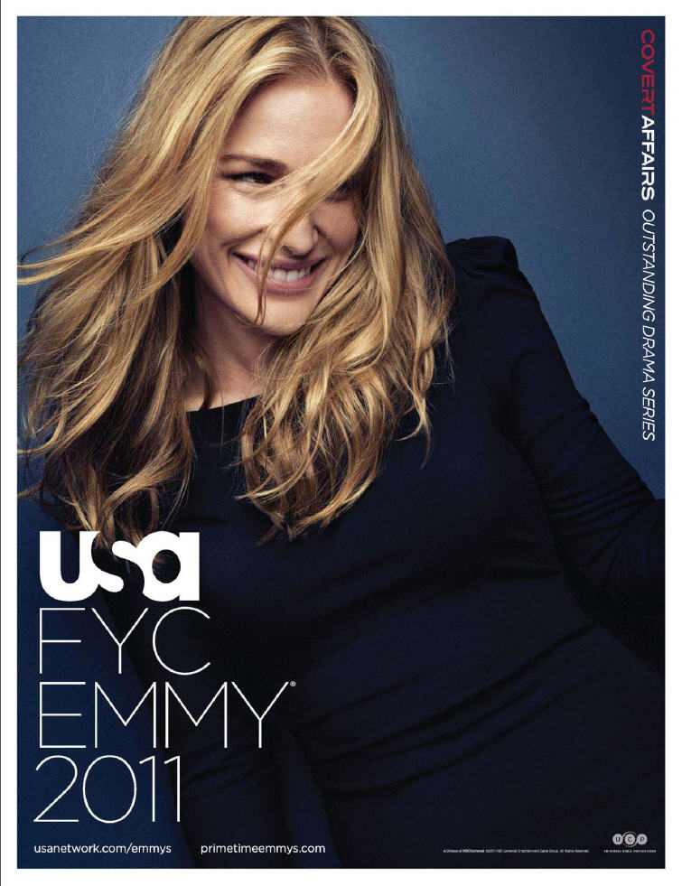 covert affairs  usa network emmy ad for your consideration HR1