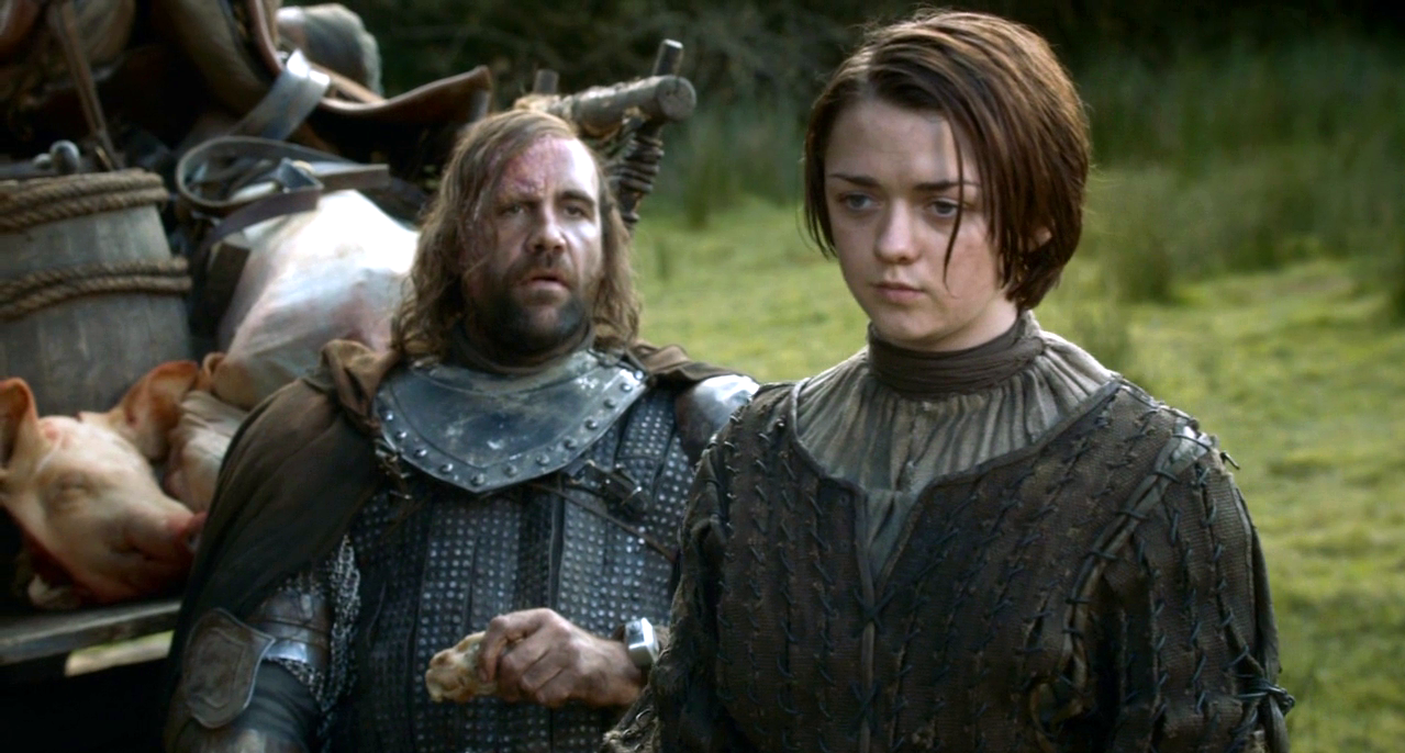 Game of Thrones Arya Sandor Clegane