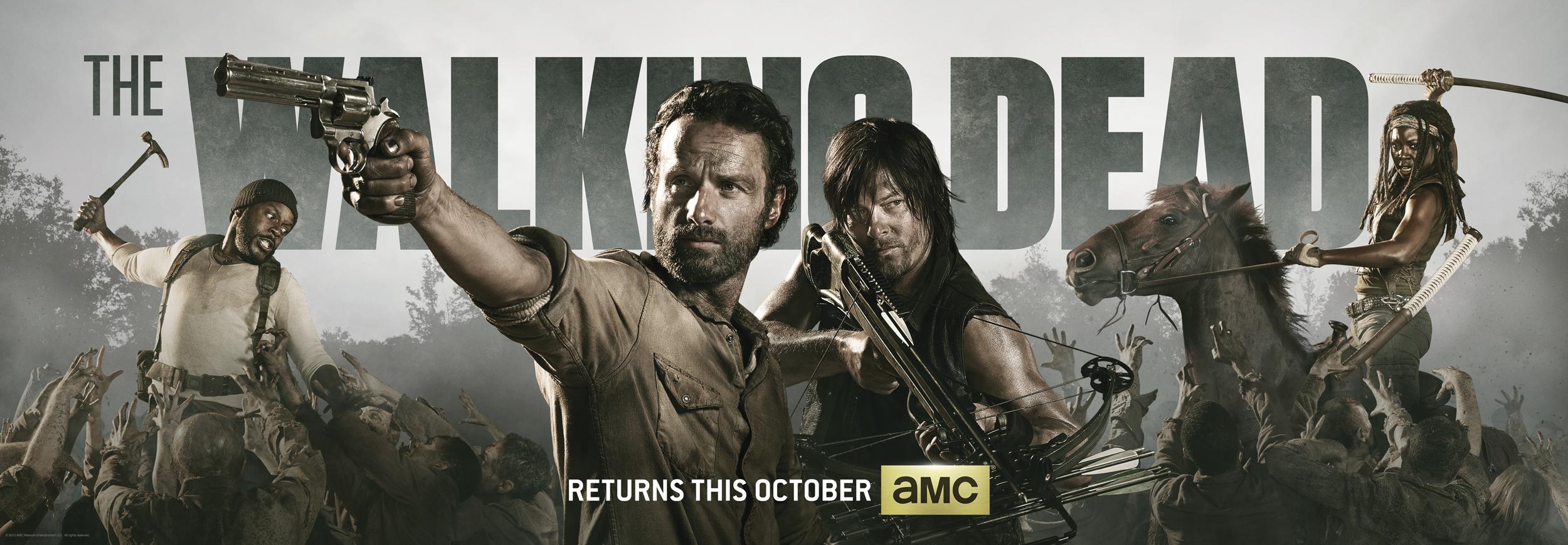 The Walking Dead Season 4 psoter