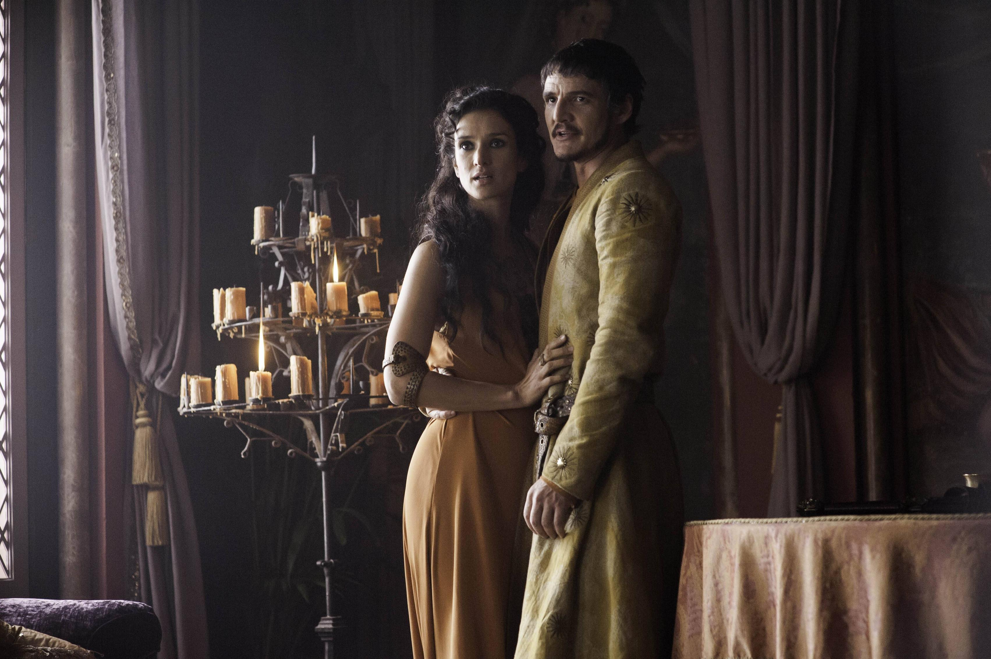 Game of Thrones Ellaria Sand and Oberyn Martell
