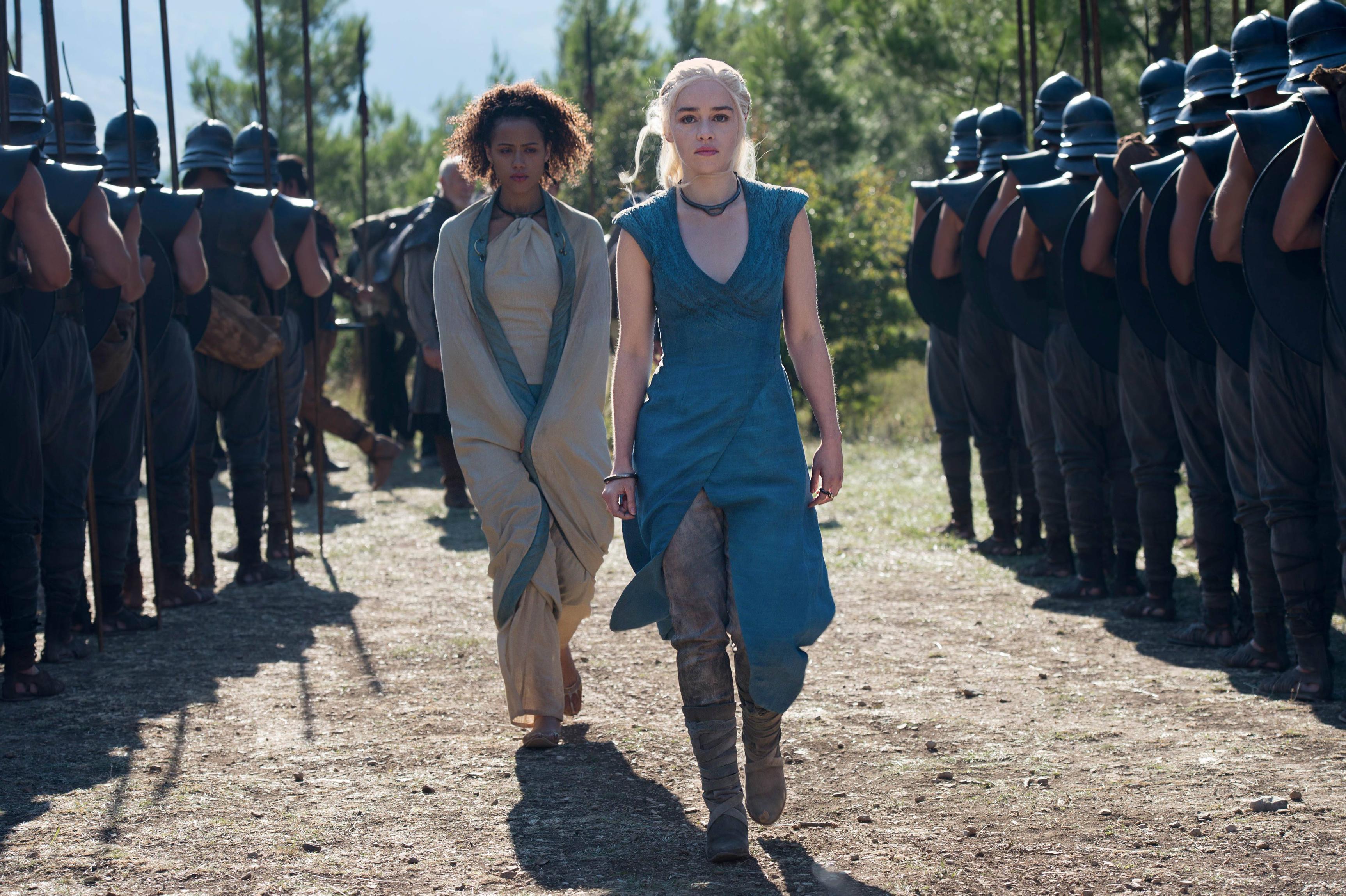 Missandei and Daenerys Targaryen