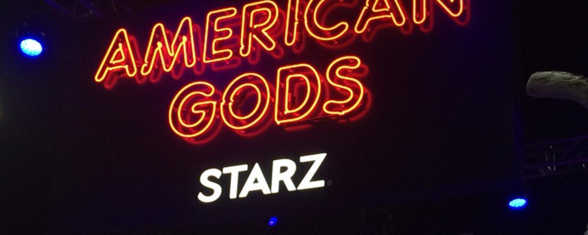 American Gods Comic-Con Booth